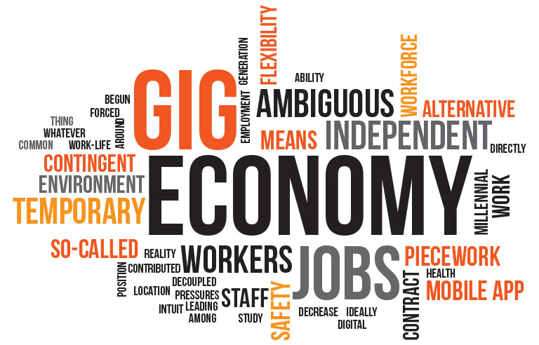 The gig economy is transforming how individuals work and how firms recruit.
